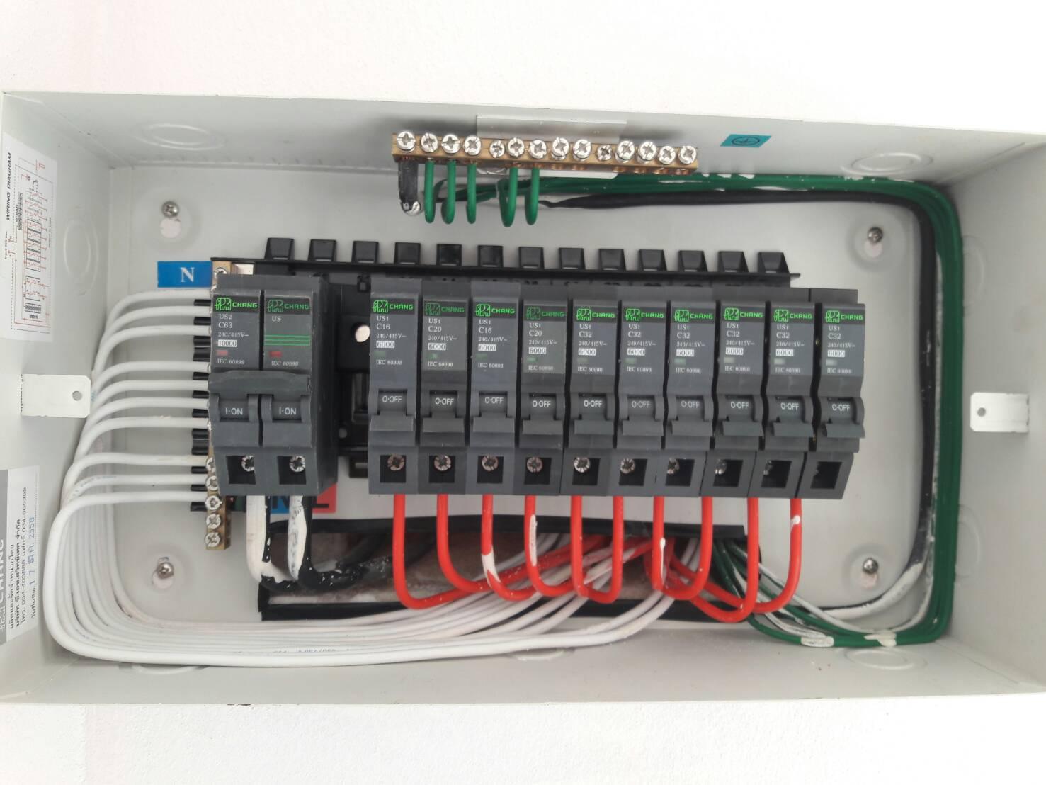 ระบบไฟฟ้าในบ้าน #12