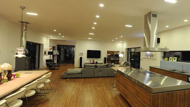 ติดตั้งระบบแสงสว่างอัตโนมัติ ที่บ้าน คุณโจ กิ่วแล ดอยสะเก็ด