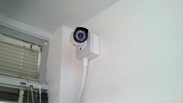 ติดตั้งกล้องวงจรปิด บ้านคุณทวี สารภี เชียงใหม่